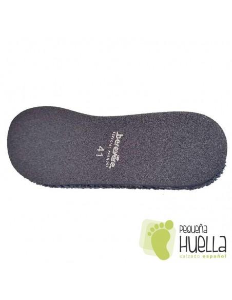 Chinelas de toalla para Casa de hombre suaves Berevere V9120