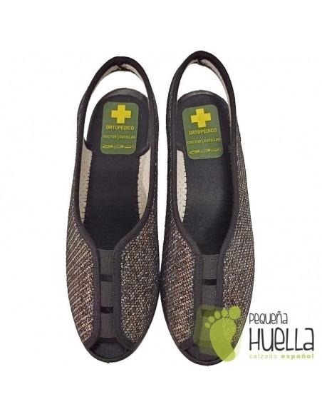 Zapatillas de calle abiertas de señora Doctor Cutillas 9826