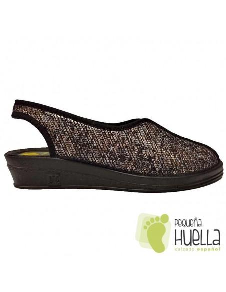 Zapatillas verano abiertas de señora Doctor Cutillas 9826