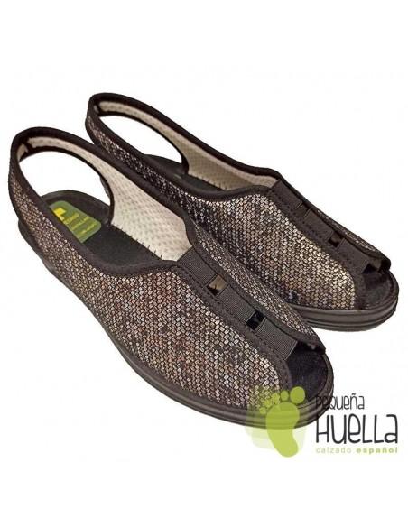 Zapatillas abiertas de señora Doctor Cutillas 9826
