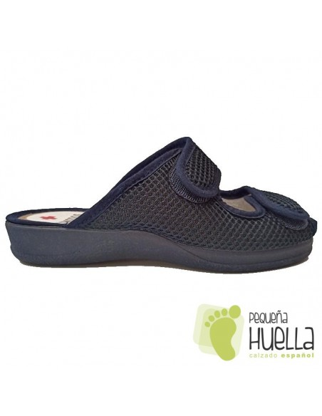 Zapatillas anatómicas de señora con velcro Ruiz y Gallego 930