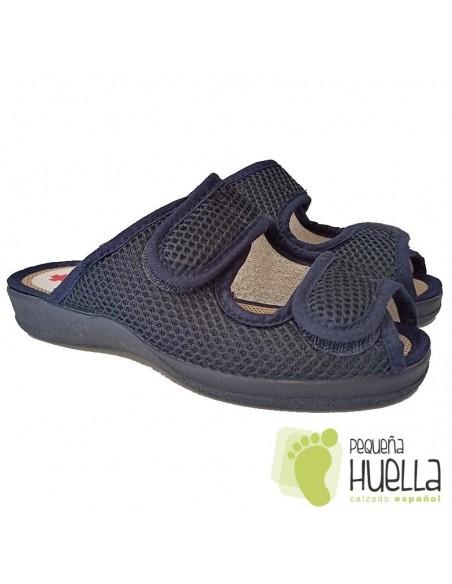 Zapatillas cómodas de mujer con velcro Ruiz y Gallego