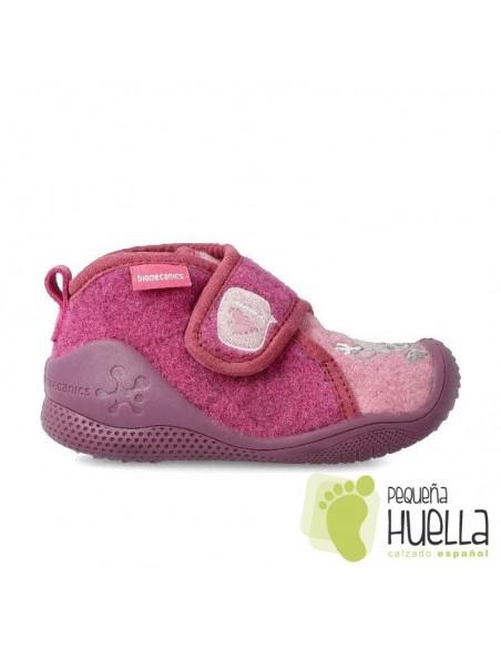Zapatillas rosas de casa para NIÑAS BIOMECANICS 201171