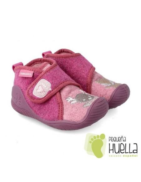 Zapatillas rosas de casa para bebés BIOMECANICS 201171