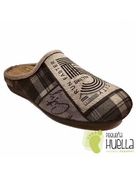 Zapatillas hombre para casa Rodevil