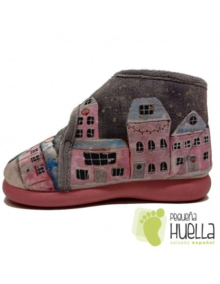 Zapatillas botas de Casa para bebés y niñas bicicleta Zapy