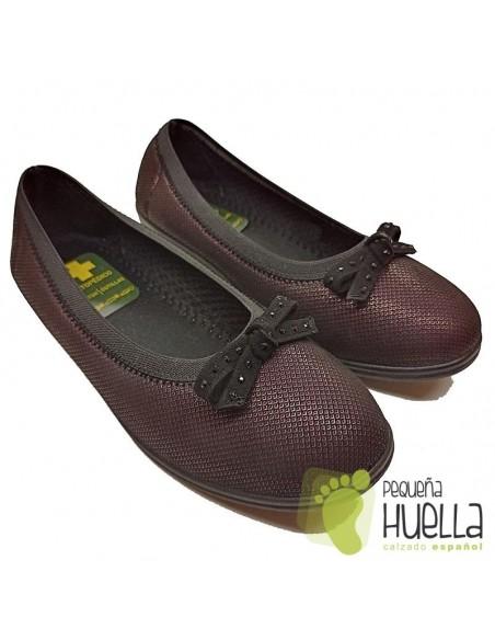 Doctor Cutillas Zapatos mujer cómodos de licra extra blanda 758A