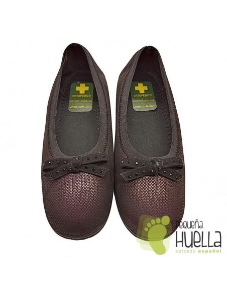 Zapatos señora de licra extra blanda Doctor Cutillas 758A