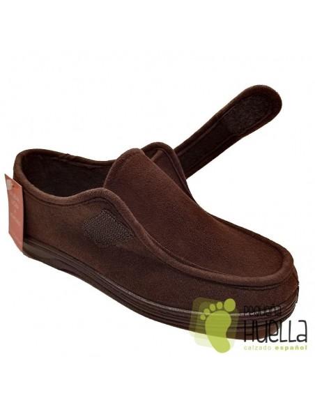 Zapatillas anchas para el invierno Doctor Cutillas 14611