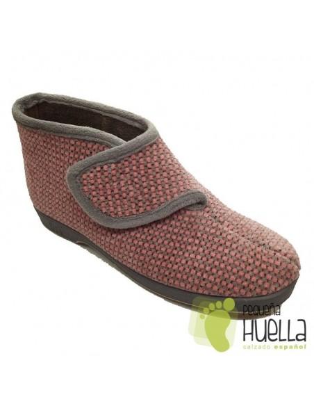 zapatillas rosas para casa de mujer Doctor Cutillas
