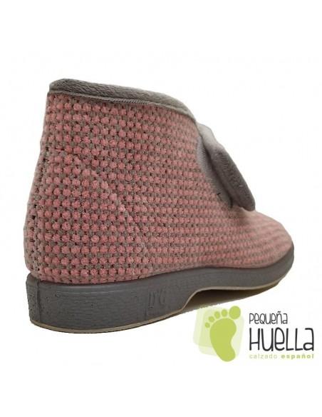 Zapatillas para casa de señora rosas Doctor Cutillas 333