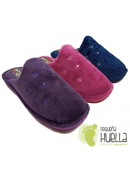 Zapatillas de casa para invierno de mujer Berevere