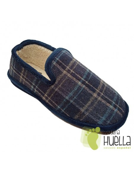 Zapatillas de cuadros para caballero Berevëre IN9750