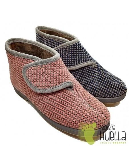 Zapatillas casa tipo Bota Mujer Doctor Cutillas 333