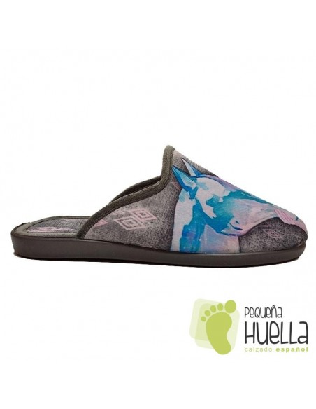 Frozen Zapatillas cómodas de casa para chicas de Invierno Zapy
