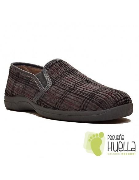 Zapatillas de cuadros para hombre Ruiz y Gallego 600