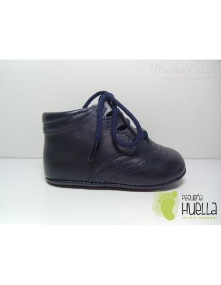 Botita Inglesa Azul Marino