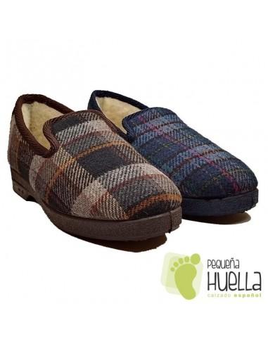 Zapatillas de invierno antideslizantes para señor Cruan 660