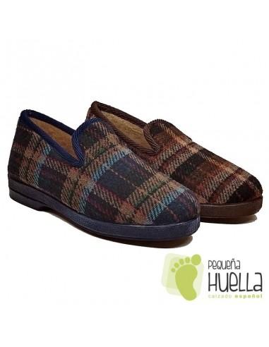 Zapatillas de cuadros para hombre CRUAN 600