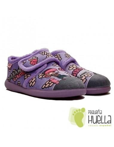 Zapatillas muñeca para chicas con Velcro Zapy