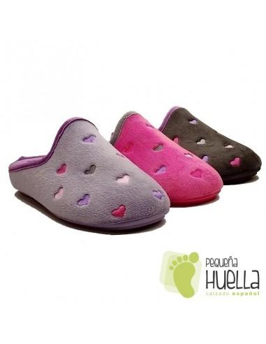 Zapatillas de Casa Chica y Mujer LUDIHER