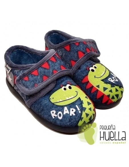 comprar Zapatillas de Dinosaurios para niños con Velcro Zapy