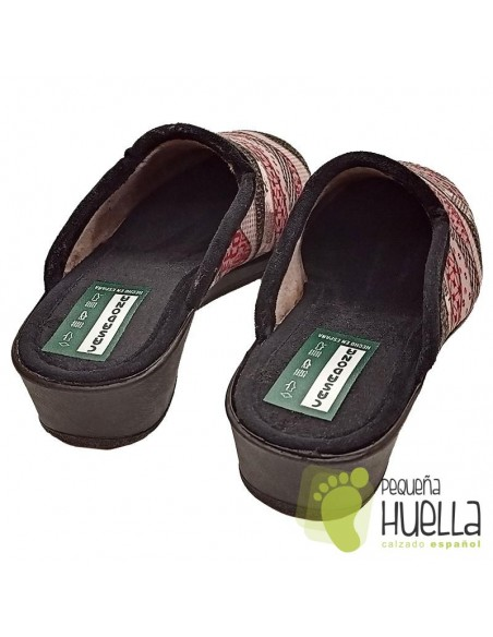 Zapatillas con cuña para señora CASA DONA 082
