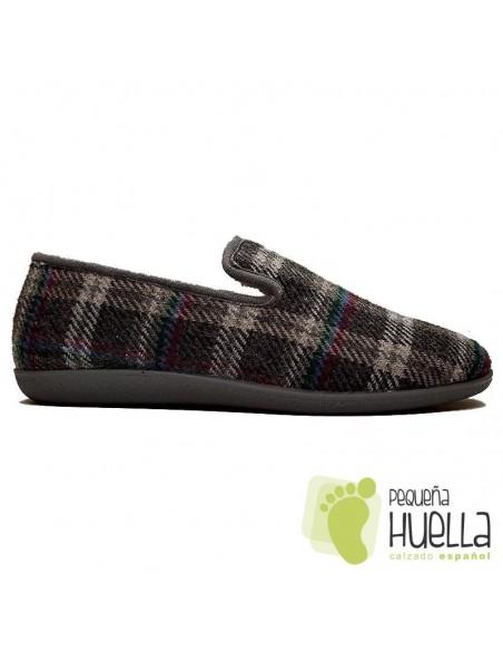 Zapatillas para hombre de cuadros CASA DONA 026