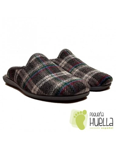 Zapatillas hombre cuadros CASA DONA 013
