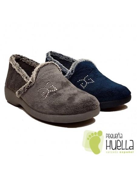 Zapatillas de Casa Para Mujer Garzón