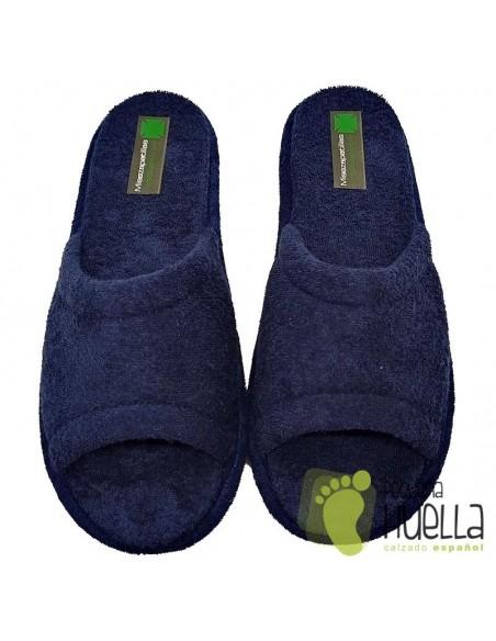 Zapatillas Casa Verano hombre de toalla, Misszapatillas 120