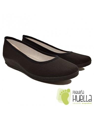 Zapatillas negras para uniforme hogar Cesmony 14S