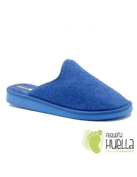 Chinelas azul royal de verano Javer 210