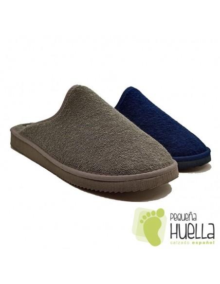 Zapatillas toalla de casa para hombre Javer 222