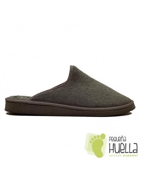 Zapatillas grises de casa Chico Javer 222