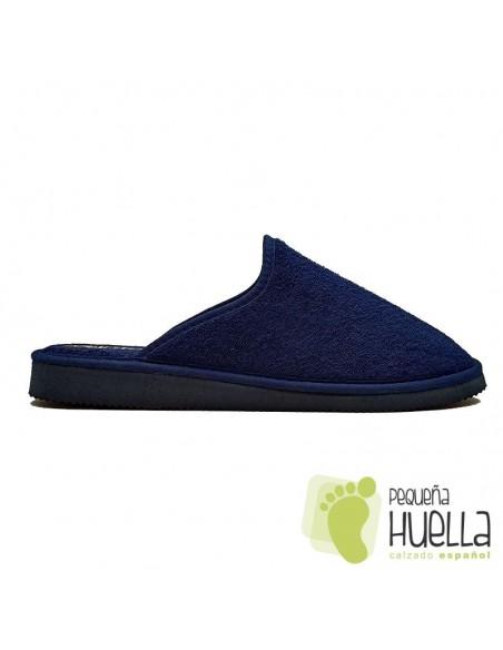 Zapatillas azules de casa Chico Javer 222