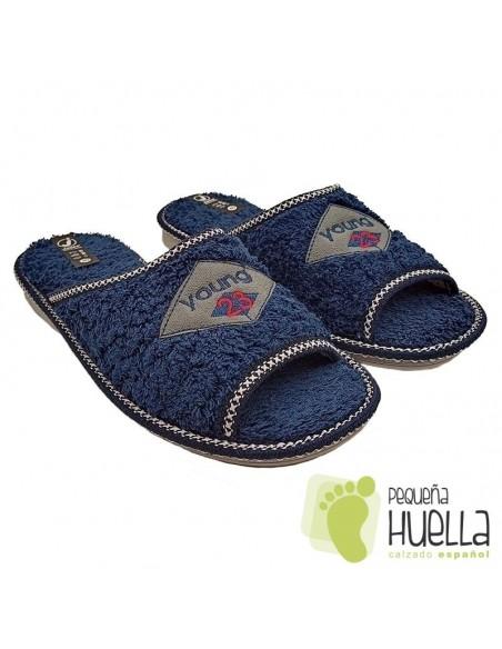 Zapatillas Casa de Gel Relax Hombre, JAVER 35-183