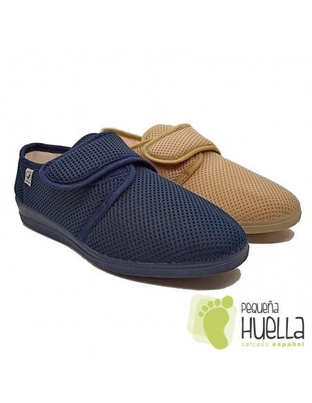 Zapatillas Señora de rejilla extra blanda JAVER 2397