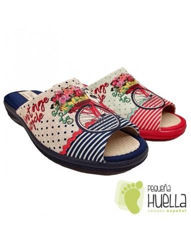 Zapatillas bicicleta de casa para Mujer J. Ortega 3230