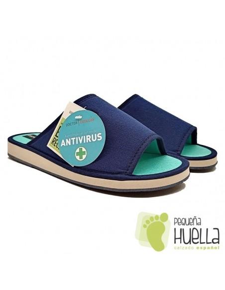 Zapatillas de casa antivirus para Hombre Doctor Cutillas 12266