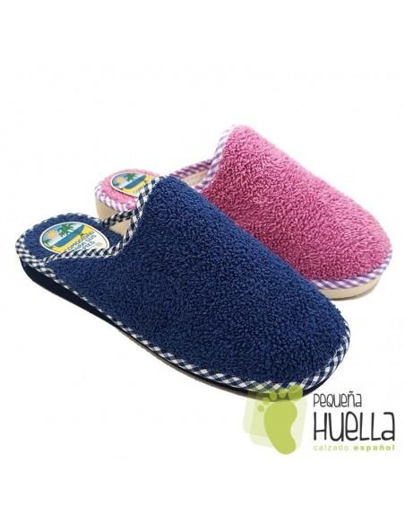 Zapatillas felpa mujer BEREVËRE V1435