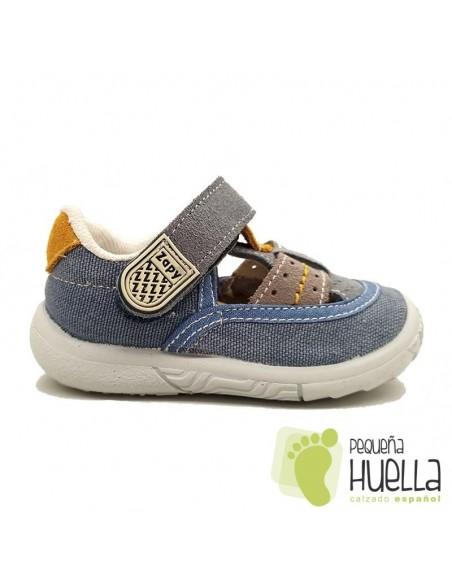 Sandalias Niños Lona Zapy Y70530