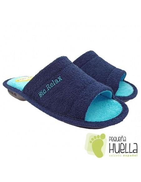 Zapatillas mujer rizo Biorelax 4027