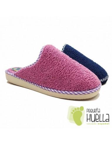 Zapatillas toalla mujer BEREVËRE V1435