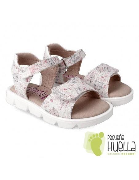 Sandalias para niñas Garvalín 212326