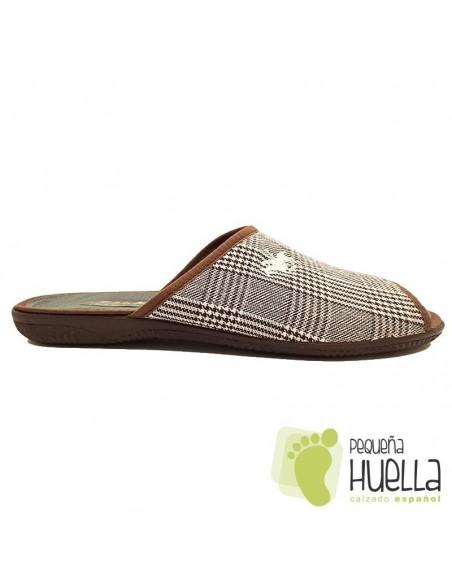 Zapatillas marrones para hombre CUMBRES 2163