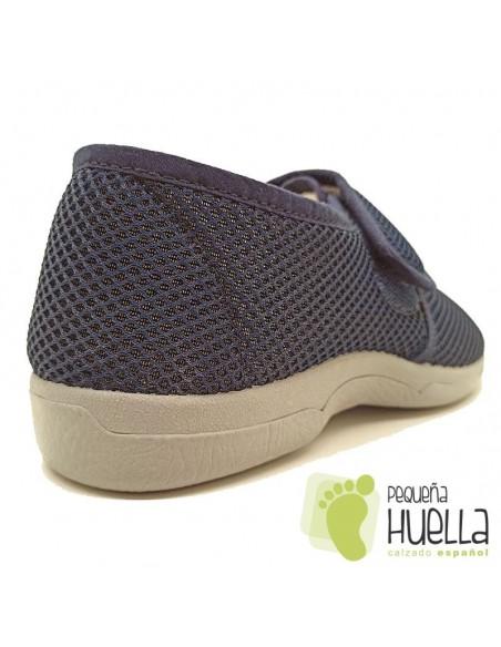 Zapatillas de señor con velcro Ruiz y Gallego 750