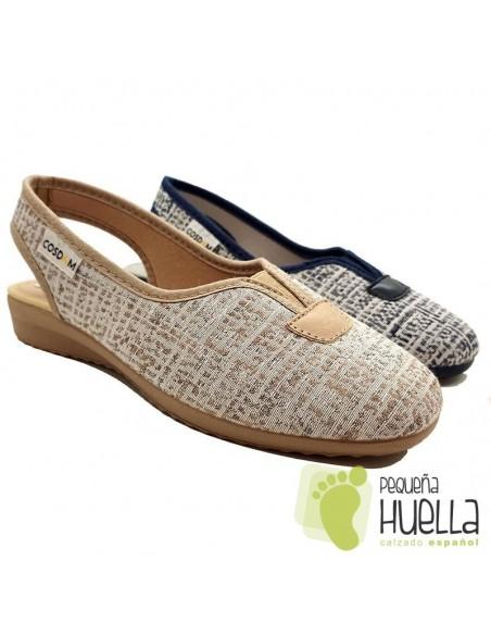 Zapatos mujer cómodos Cosdam 0102