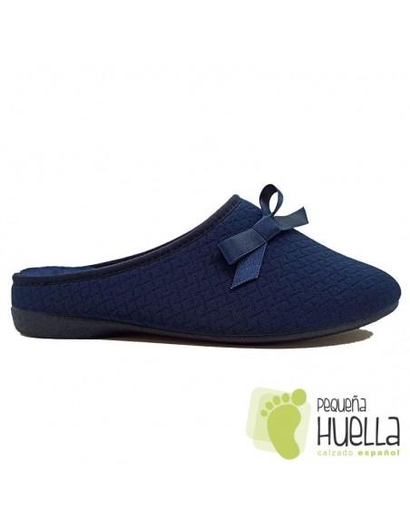 Zapatillas azul marino mujer Cosdam 0532