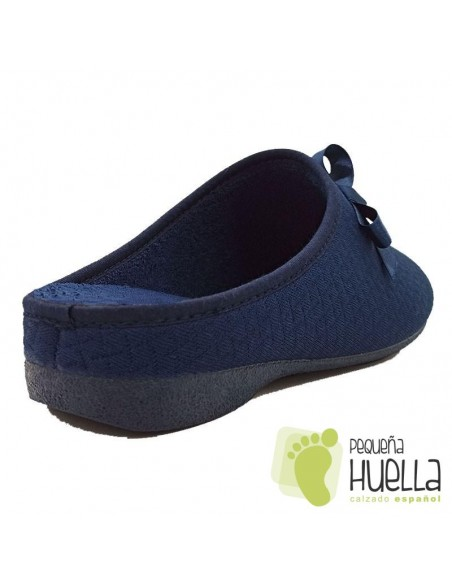 Zapatillas azules mujer Cosdam 0532